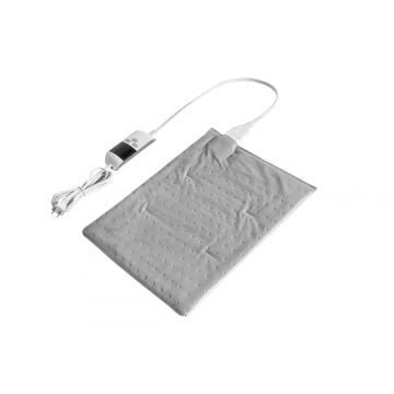 "UL Approved Moist Regular Size Heating Pad Light Grey 12""X15"""