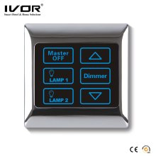 Ivor Touch Screen Light Switch with Dimmer Switch LED Dimmer with Remote Control