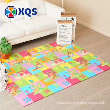 2018 hot saling ECO-friendly polyester printed children's rugs, Morden Design ECO-friendly Children's Rug