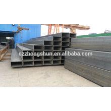 Ms tubes carrés tubes rectangulaires ASTM A500-GrB / Q235 / Q345 / SS400