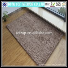 Plancher en microfibre lavable design moderne tapis 3d