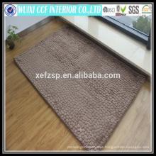 Washable microfiber floor modern design 3d carpet
