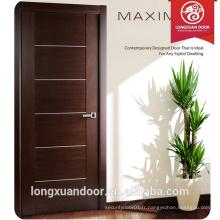 Les portes de la peau de mélamine de haute qualité utilisent une conception élégante et contemporaine, une encastrée encastrée avec des tôles en poudre Slumber