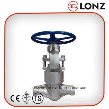 Vanne en acier forgé en acier inoxydable F304 en acier inoxydable