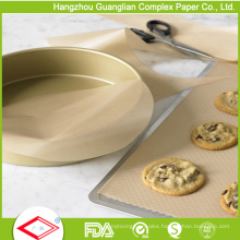 Silicone Treated Non-Stick Unbleached Baking Paper Liner From Factory