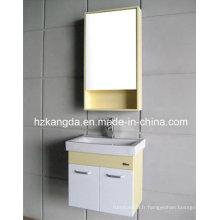 Cabinet de salle de bains en PVC / vanité de salle de bain en PVC (KD-297B)