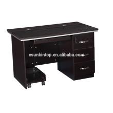 Mesa de ordenador de melamina de diseño, mesa de ordenador de muebles de diseño moderno