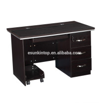 Melamine computer table design, modern design furniture computer table