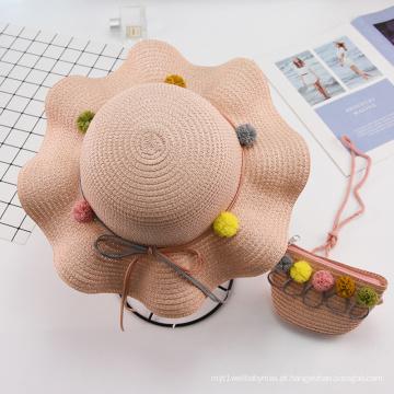 Bolsa de mão para chapéu de bebê ao ar livre estilo simples