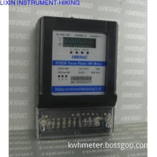 three phase with  RS485 port  watt hour meter