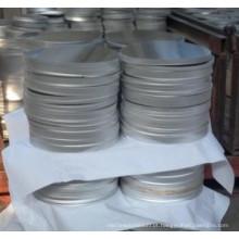 Círculo de alumínio da folha de A3004 H14 / A1100 Ho para o potenciômetro