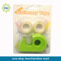 Set di nastri cancelleria 3pcs con dispenser per nastro 1pc