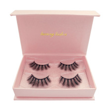 natural wispy 3d real mink eyelashes private label mink eyelashes 2 pairs box mink eyelashes wholesale