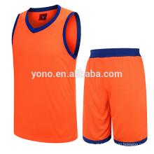 2017 melhor preço competitivo de basquete jersey novo modelo de uniforme de basquete uniforme kit