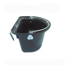 Cubo de alimentador de caballo de plástico de varios colores
