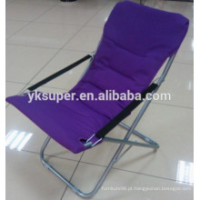 Grande cadeira de sol dobrável para sala de estar com boa qualidade