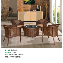 New design modern rattan dining chair