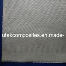 520GSM satén de fibra de vidrio de sílice de alta de sílice