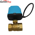 "Gutentop 1/2""-1"" Brass Mini Electric Motor Ball Valve/ Motorized Ball Valve"