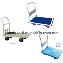 Armazém Flat Bed Cargo Carrinho de Mão Carrinho