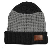 Hot Selling Acrylic Beanie Hat Knitting
