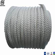 Good quality 100% for Nylon Boat Mooring Ropes 12 Strand Braided Mooring Rope export to Ireland Manufacturers