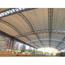 Steel Space Frame Parking Canopy
