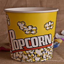 Taza de Popcorn o cubo de papel personalizado para cine
