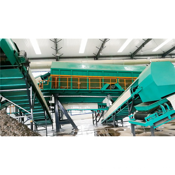 Municipal solid waste classification to valuable plastic,biomass,metal