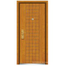 Puerta de madera de acero (FXGM-C302)