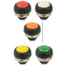 Interruptor de botón 12V, Interruptor de botón Pulsador de pedal del barco del tablero de instrumentos del coche