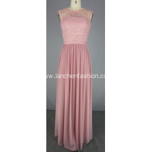 Blush Pink Bridesmaid Dress Formal Prom Dress