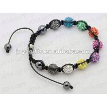 Мода природный камень Shamballa браслет
