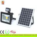Lumière d'inondation solaire extérieure de haute qualité de LED avec le capteur de mouvement 10W