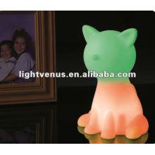 2012 nueva luz de la noche animal de diseño
