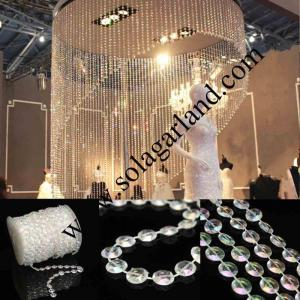 99 Voeten Clear Bubble Beads Roll Garland Bruiloft Decor