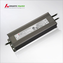 ETL EMC FCC waterproof IP67 power supply 24v led dali dimming / dimmable driver 120w 150w
