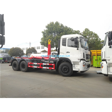 6x4 Load Hook Lift Removable Garbage Truck