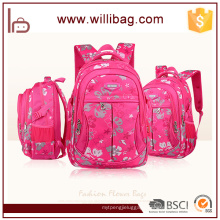Newest Attractive Fashion Flower Backpack School Bag