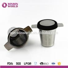 Vente chaude feuille en vrac en métal en acier inoxydable infuseur / filtre / Steeper pour tasse à thé et théière