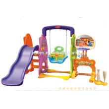 YQ Kids Sliding Toys Indoor Coco Slide and Swing Children Kids Plastic Slides