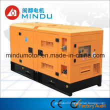 Weatherproof 55kw Yuchai Diesel Silent Generator Set