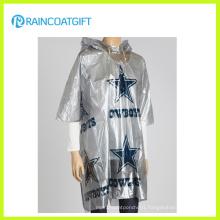 Full Printing Disposable PE Rain Poncho (RPE-180)