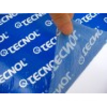Protection Film Blue Color with Printing