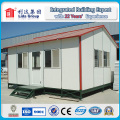 Casa pré-fabricada do acampamento do acampamento do trabalho do telhado da inclinação