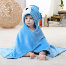 Super Soft Newborn Baby Flannel Blanket / Animal Shapes 3D Stereoscopic Cloak/ Fish