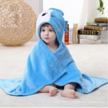 Супер мягкий новорожденный одеяло из фланелевой ткани / формы животных 3D-стереоскопический плащ / рыба