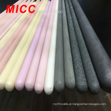 MICC branco 2 furos 95% -99% peças cerâmicas de alumina