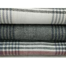 Tejido 100% algodón teñido de tela de franela para pijamas y ropa de dormir