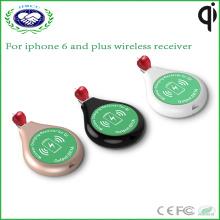 Круглый беспроводной приемник зарядки для iPhone и Android